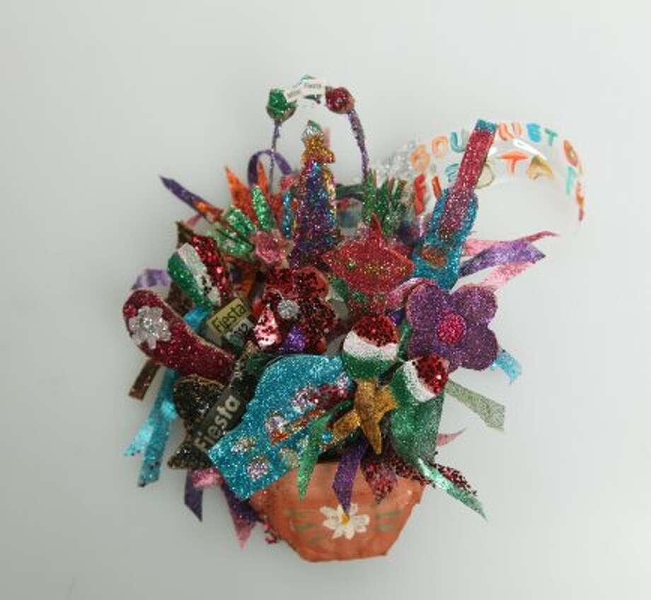 """2nd Place- """"Bouquet of Fiesta Fun"""" by Maria S. Vasquez"""