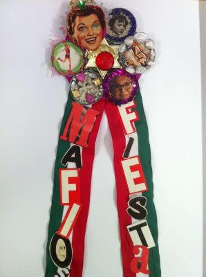 """Mafiosa Fiesta"" by Patti Hinkley of the San Antonio Craft Mafia"