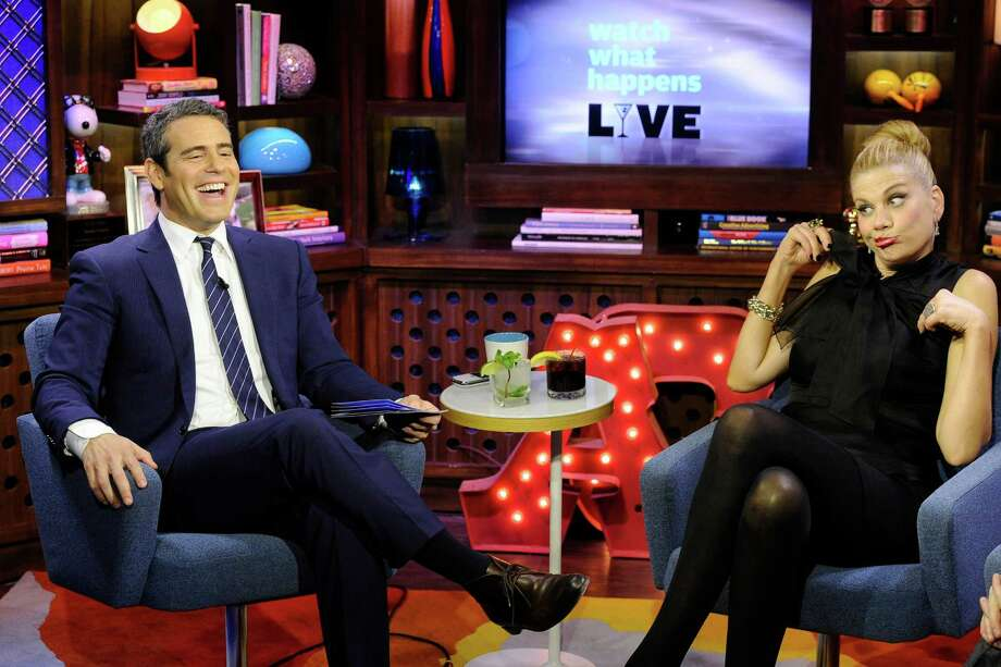 "Kristen Johnston appears on Bravo's ""Watch What Happens: Live"" hosted by Andy Cohen Photo: Bravo"