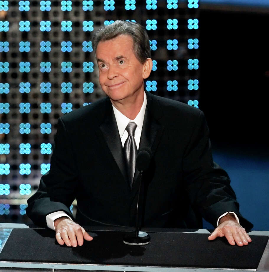TV and radio personality Dick Clark died April 18 at age 82. / AP2006