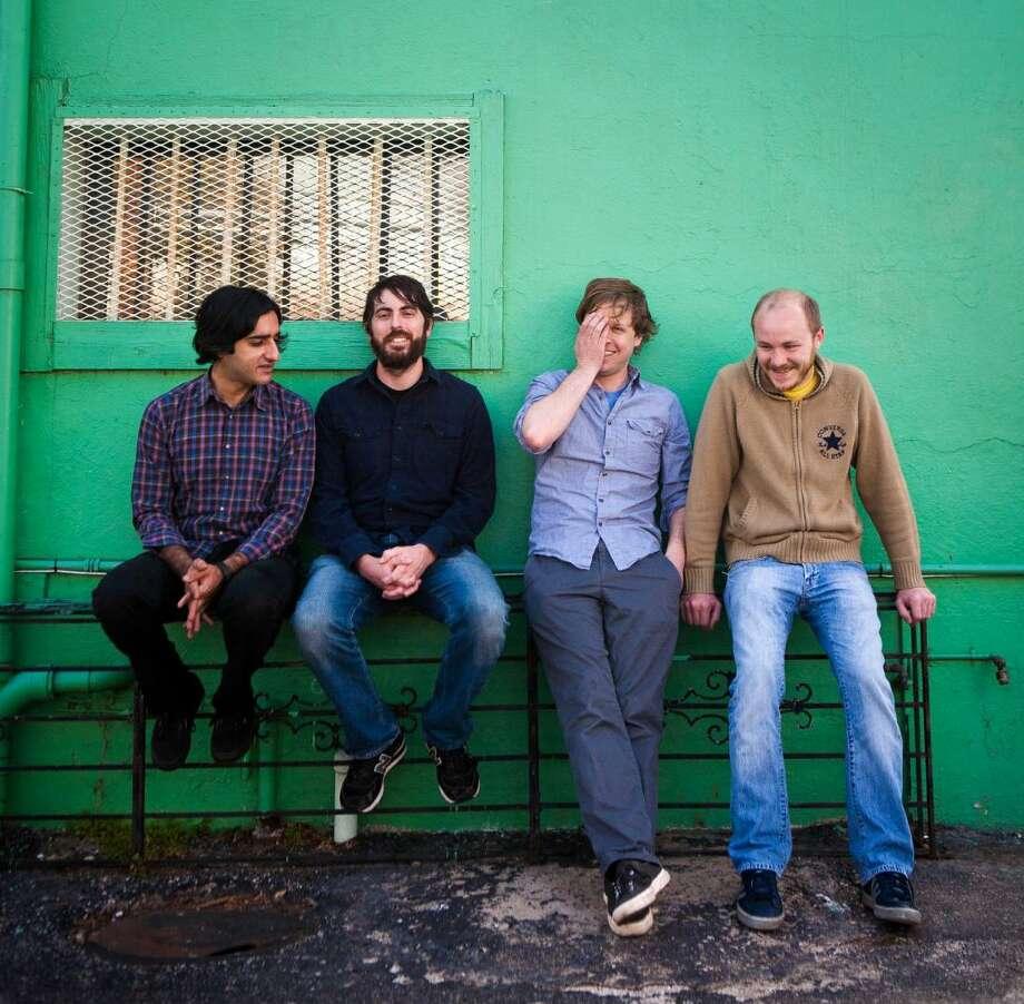 Austin instrumental rock band Explosions in the Sky Photo: COURTESY NICK SIMONITE