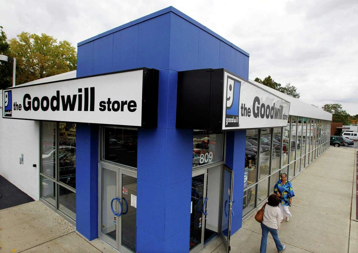 Goodwill has donation stations all over the country, with several in Connecticut. The store accepts donations in the form of clothing, shoes, furniture, flat screen televisions, jewelry, antiques, books, household, DVDs, CDs, records, tapes, computers, printers and monitors, and even vehicles - amongst other items, as long as they are in working condition. Some Connecticut locations: Goodwill Bridgeport Store & Donation Station (165 Ocean Terrace, Bridgeport, CT 06605) Goodwill Brookfield Store & Donation Station (165 Federal Road, Brookfield, CT 06804) Goodwill Danbury Store & Donation Station (2 Beaver Brook Road, Danbury, CT 06810) Goodwill Milford Store & Donation Station (1712 Boston Post Road, Milford, CT 06460) Goodwill Monroe Store & Donation Station (574 Monroe Turnpike, Monroe, CT 06468) Goodwill New Milford Store & Donation Station (141-143 Danbury Road, New Milford, CT 06776)  Goodwill Norwalk Store & Donation Station (15 Cross Street, Norwalk, CT 06851)  Goodwill Stamford Store & Donation Station (1 West Broad Street, Stamford, CT 06902) Goodwill Westport Store & Donation Station (1700 Post Road East, Westport CT 06880)