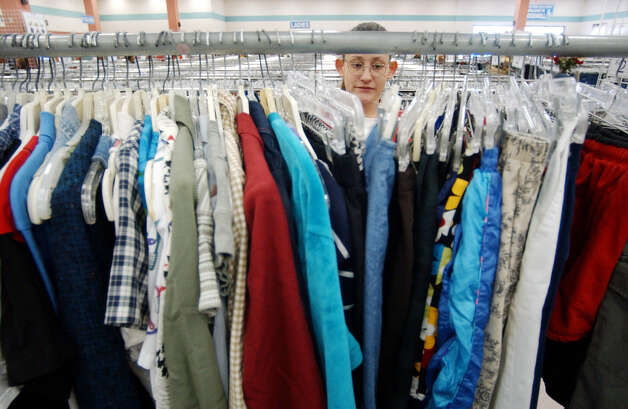 Household items, including clothing, can be given to Goodwill stores. Photo: Express-News File Photo / SAN ANTONIO EXPRESS-NEWS