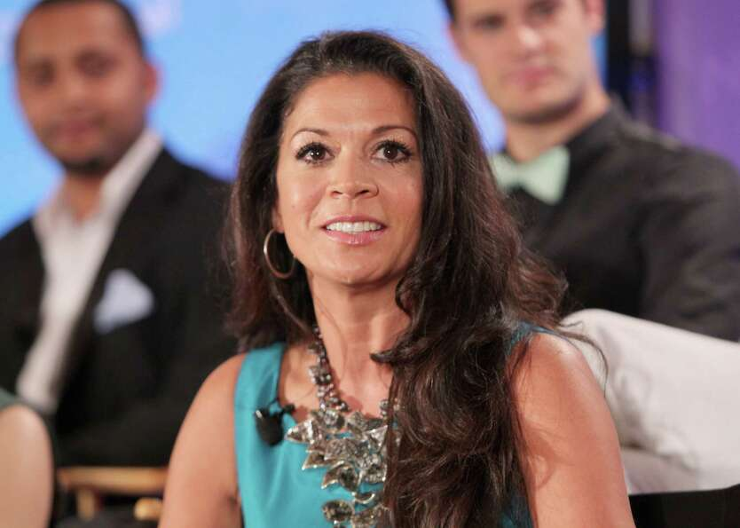 TV Personality Dina Eastwood attends the NBCUniversal summer press day held at The Langham Huntingto