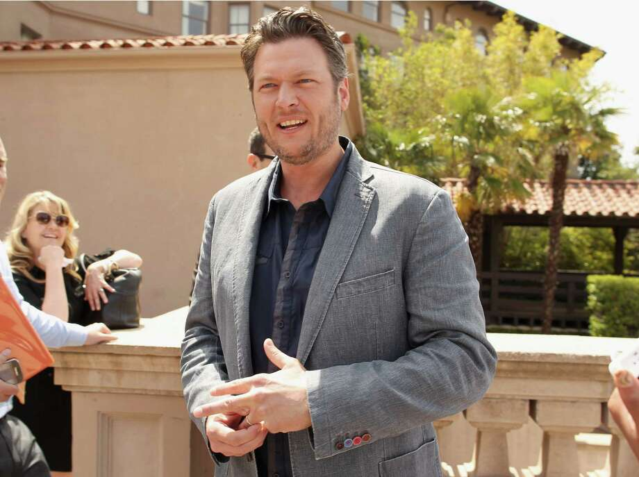 "Blake Shelton tweeted - ""The killing of defenseless people and innocent children. I'm sad and sickened. This is why we all should be prepared to defend and guard."" Photo: Christopher Polk, Getty Images For NBCUniversal / 2012 Getty Images"