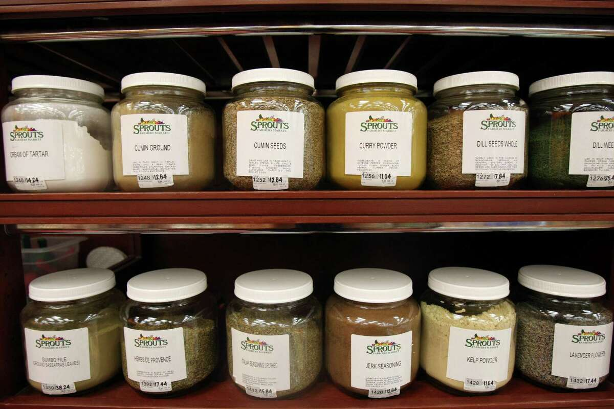 TASTE: Bulk foods section at Sprouts, photographed Tuesday April 17, 2012. Helen L. Montoya/San Antonio Express-News