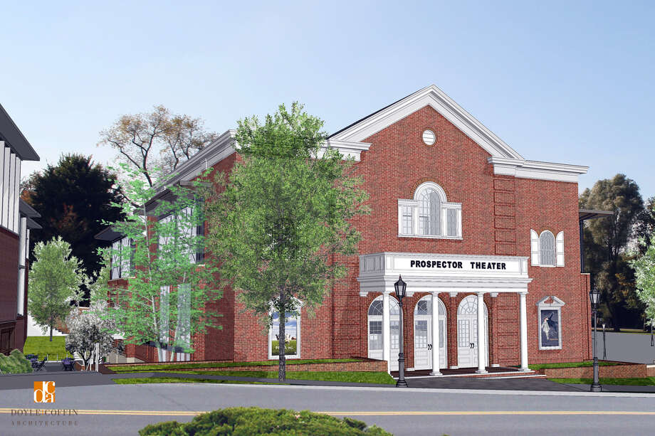 Plans move ahead to convert an old theater on Prospect Street in Ridgefield into a three-screen movie theater. Photo: Contributed Photo