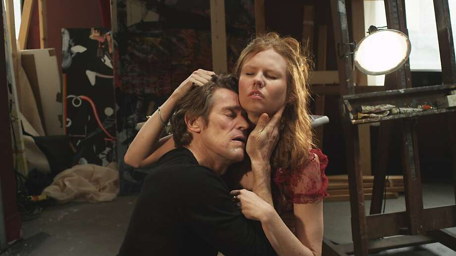 "Willem Dafoe and Shanyn Leigh face the end of the world in ""4:44 Last Day on Earth."" Photo: IFC Films"