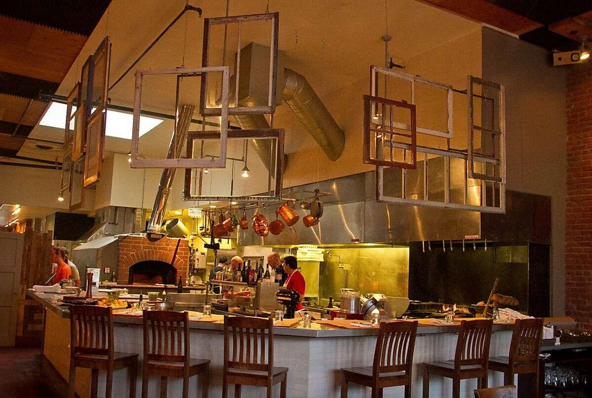 The kitchen at Forchetta restaurant in Sebastopol, Calif. is seen on Thursday April 12th, 2012.