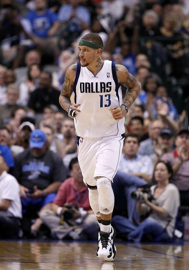 Dallas Mavericks' Delonte West (13) during an NBA basketball game against the Sacramento Kings Tuesday, April 10, 2012, in Dallas. The Mavericks won 110-100. (AP Photo/Tony Gutierrez) Photo: Tony Gutierrez, Associated Press