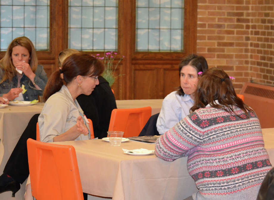 Were you Seen at the Women@Work seminar with Anne Saile at Maria College in Albany on Wednesday, April 18, 2012? Photo: Colleen Ingerto/Times Union Magazines