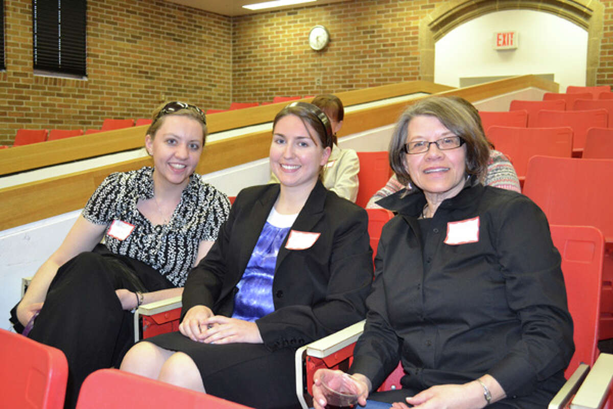 Were you Seen at the Women@Work seminar with Anne Saile at Maria College in Albany on Wednesday, April 18, 2012?