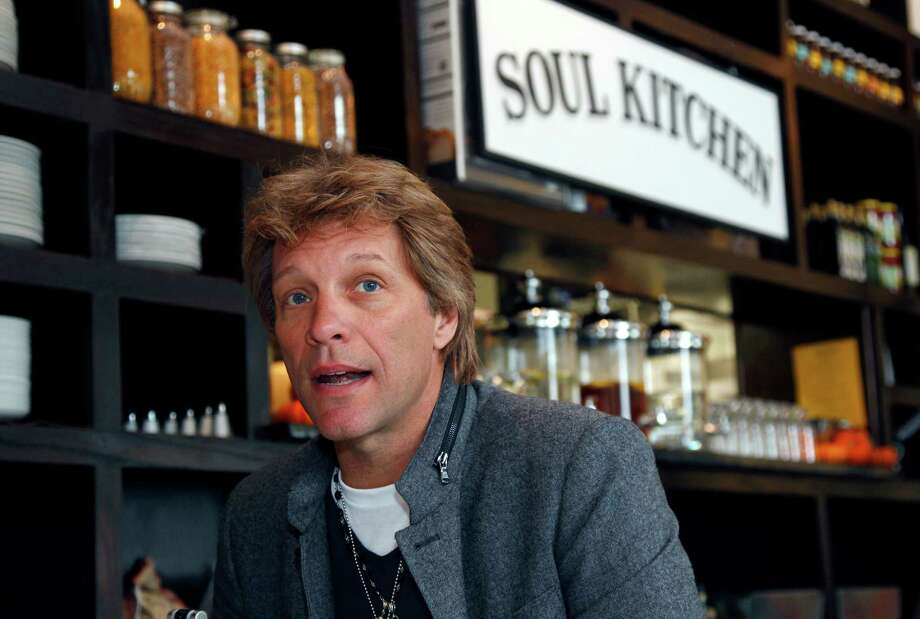 Jon Bon Jovi Soul FoodIn 2011, the 1980s rock star opened a donation-only restaurant in Red Bank, New Jersey called Soul Kitchen. If you can't afford a donation, you can volunteer in the kitchen instead. Photo: Mel Evans, AP / AP