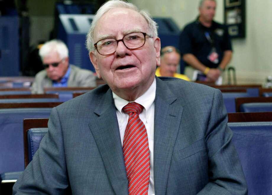 13. Warren Buffett,chief executive officer ofBerkshire Hathaway Photo: AP