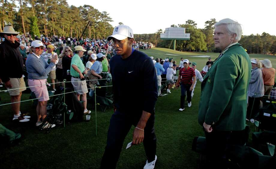 A fine for Tiger? A reader says that no matter the degree of unsportsmanlike conduct, it's unlikely Tiger Woods would receive any substantial punishment. Photo: Matt Slocum, Associated Press