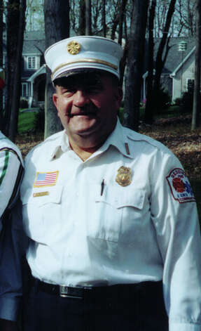 Funeral services for Redding Fire Lt. G. Marshall Sanford will be held on Friday, April 20, 2012. The 50-year firefighting veteran, shown here in an undated photo, died in the line of duty last week. Photo: Contributed Photo