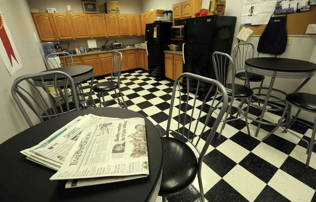 Break Room Area Of The Engineering Firm Of Creighton Manning In Albany,  N.Y. March 9