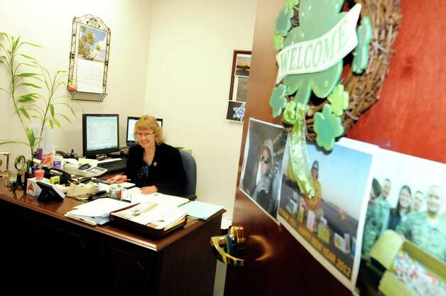 Administration manager Gail Watson works in her office on Thursday, March 15, 2012, at Teal, Becker & Chiaramonte in Albany, N.Y. The firm was voted a top place to work. (Cindy Schultz / Times Union) Photo: Cindy Schultz / 00016771A