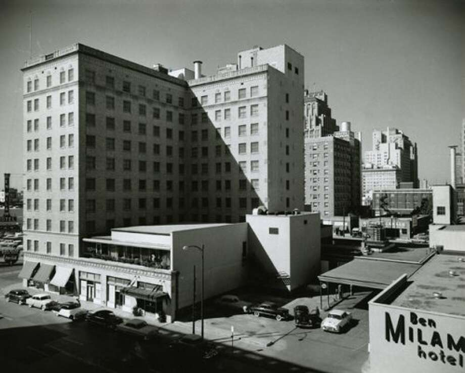 Ben Milam Hotel, Aug. 23, 1957 (Harper Leiper Studios / Chronicle file)