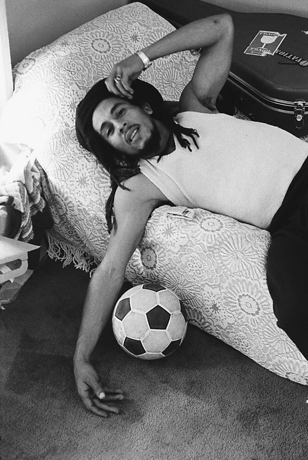 Bob Marley in a scene from MARLEY, a Magnolia Pictures release.