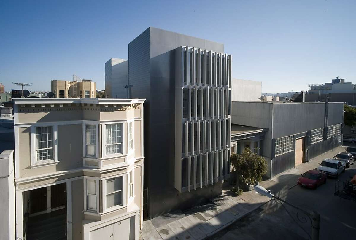 The boutique building at 1029 Natoma Street was designed by local architect Stanley Saitowitz. It was honored by the AIA in 2014.