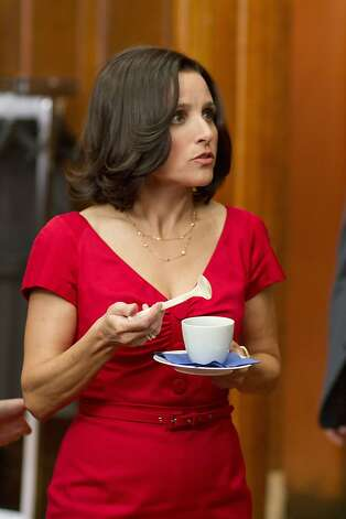 VEEP: Julia Louis-Dreyfus. Photo: Bill Gray, HBO
