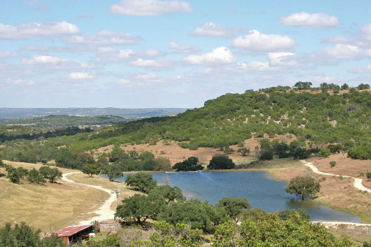 This 332-acre property in Kerr County is on the market for $1,993,560, listed by George