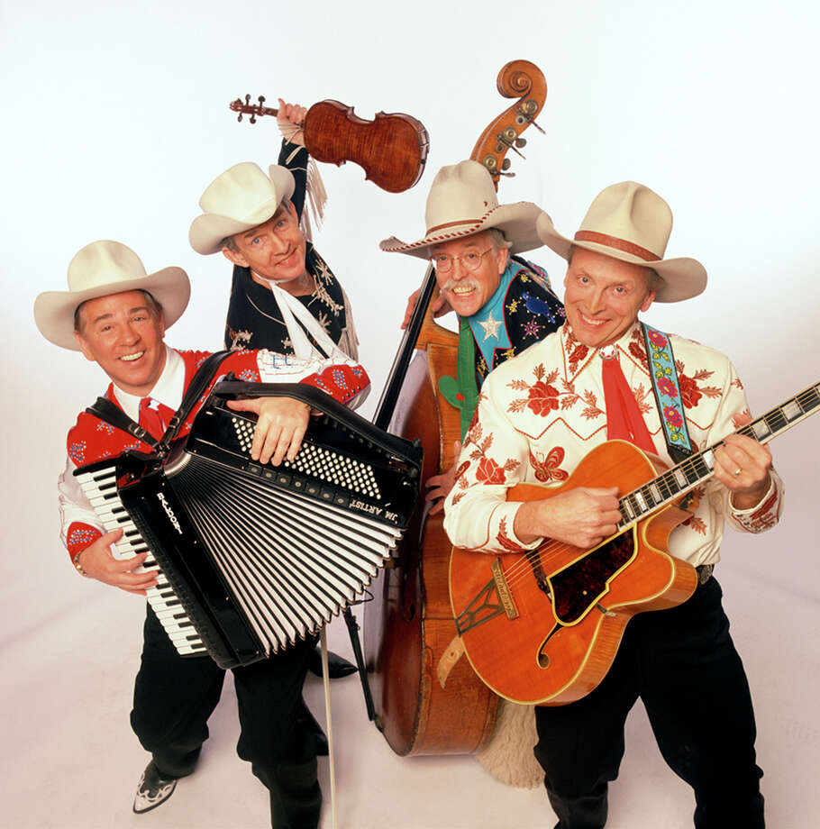Riders in the Sky:Classic cowboy quartet that entertains with music and comedy. Sunday, March 2 at 7:30 p.m.; Dosey Doe, 25911 I-45 N., The Woodlands; 281-367-3774; doseydoe.com Photo: 1996-98 AccuSoft Inc., All Rights Reserved