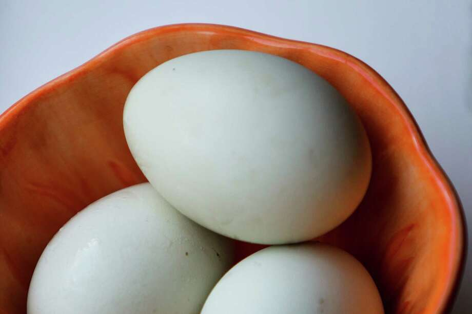 Hens in the United States produce 75 billion eggs a year. Photo: Michael Paulsen / © 2012 Houston Chronicle