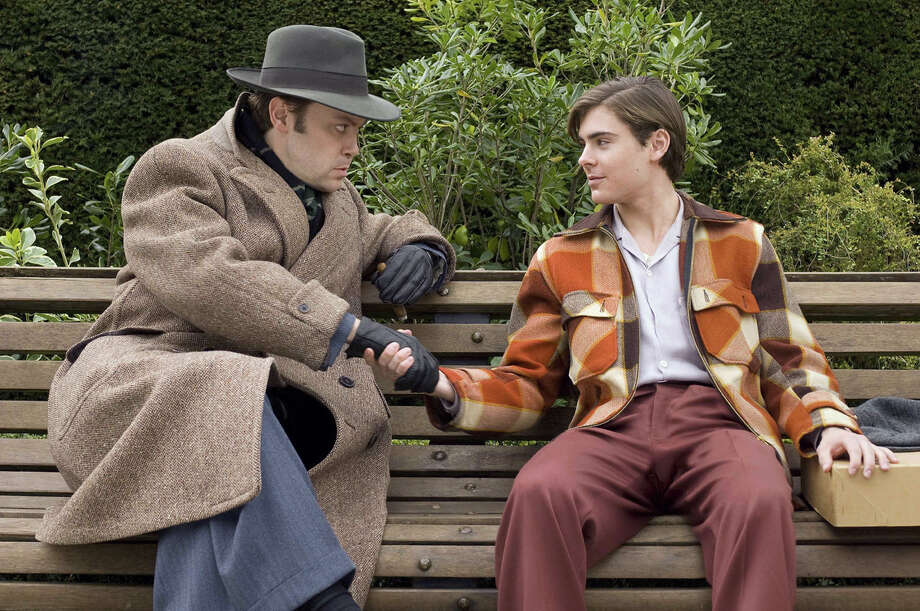"Christian McKay as Orson Welles and Zac Efron as Richard Samuels in ""Me and Orson Welles"". Photo: Liam Daniel / handout web"