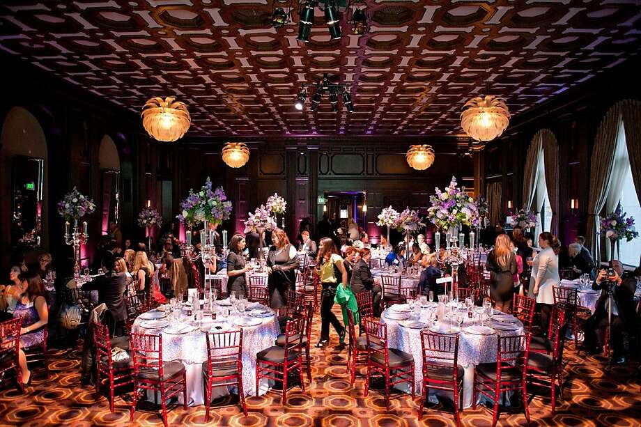Legendary event designer Preston Bailey spoke at the National Association of Catering Executives on Tuesday April 10 at the Julia Morgan Ball Room. Photo: Josh Rodriguez