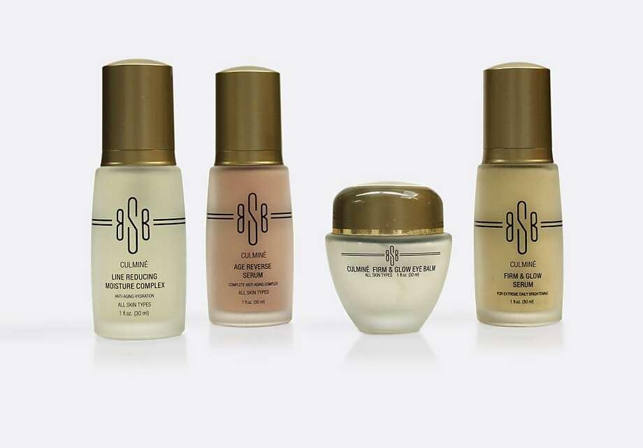 BSB (Bella Schneider Beauty) Culmine  Firm & Glow Eye Balm; BSB Culmine  Age Reverse Serum; BSB  Culmine  Firm & Glow Serum; BSB Culmine  Line Reducing Moisture Complex. Photo: LaBelle Day Spas And Salons