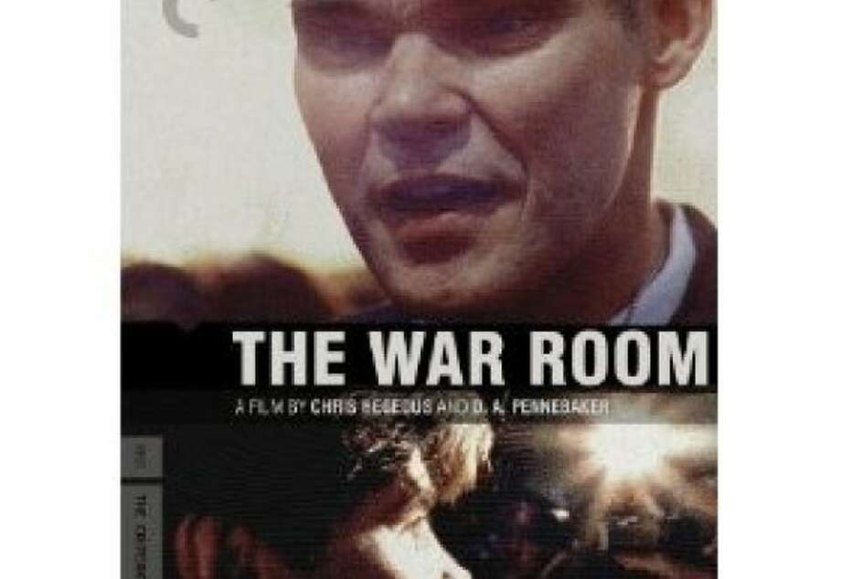dvd cover THE WAR ROOM Photo: Criterion Collection