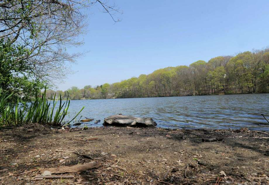 The Mianus River as seen from its western bank in Cos Cob, Thursday, April 19, 2012. The rivers in the region sit at lower-than-normal levels due to the lack of rainfall. Trout-fishing season opens Saturday, April 21. Photo: Bob Luckey / Greenwich Time