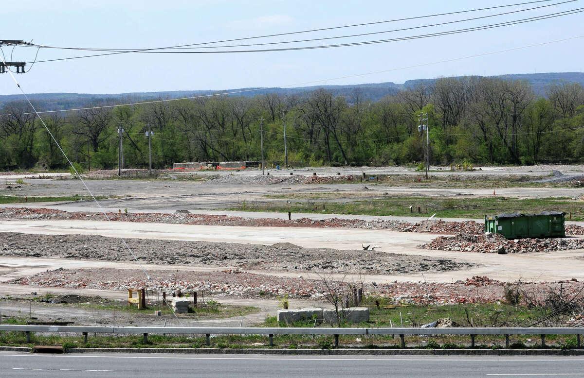 The former American Locomotive Company (ALCO) site off Erie Blvd. April 19, 2012 in Schenectady, N.Y. (Lori Van Buren / Times Union)