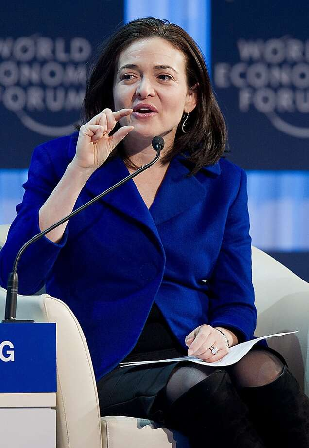Facebook Chief Operating Officer Sheryl Sandberg  led talks to acquire AOL's patents, a source said. Photo: Jean-christophe Bott, Associated Press