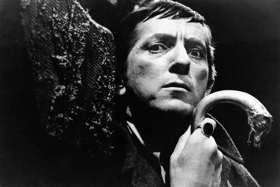 """Jonathan Frid, a Candadian actor, appeared in nearly 600 episodes as the vampire Barnabas Collins in the Gothic soap opera """"Dark Shadows."""" Photo: Anonymous / AP1970"""