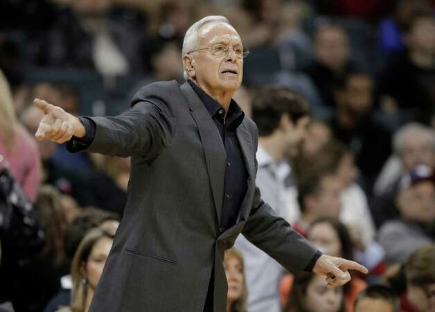 Coach Larry Brown directs the Charlotte Bobcats during the 2010-11 NBA season.  Photo: AP