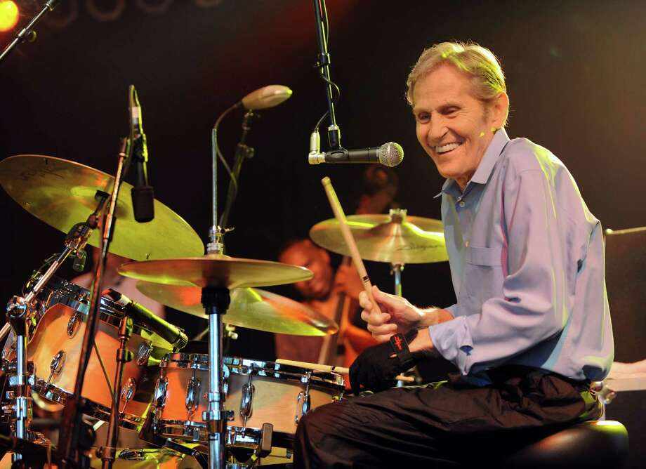 Legendary Musician Levon Helm performs with The Ramble on the Road Band live as his 2008 tour made a stop at The Bonnaroo Music and Arts Festival in 2008. The singer and drummer of The Band died April 19 at age 71. Photo: Jason Moore / Zuma Press