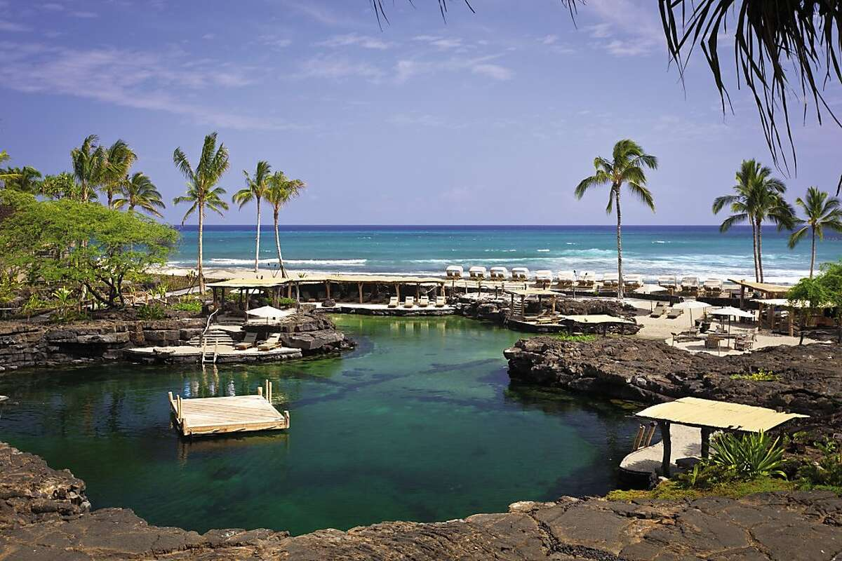 The Four Seasons Resort Hualalai has turned the 65 rooms surrounding the King's Pond swimming aquarium into an