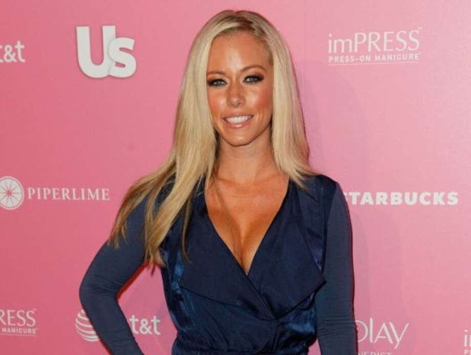 "Kendra Wilkinson – The sporty ""Girl Next Door"" Kendra Wilkinson was a stripper before she was a Playmate. She told the Today show, ""I was a good person doing it. I wasn't a druggie stripper."" (Imeh Akpanudosen / Getty Images)"