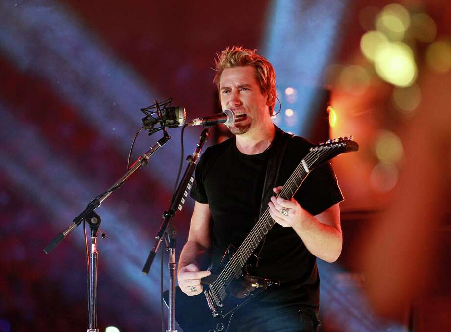 Chad Kroeger, lead singer of Nickelback, performs during halftime of the CFL 99th Grey Cup November 27, 2011 at BC Place in Vancouver, British Columbia, Canada.  Photo: Jeff Vinnick, Getty Images / 2011 Getty Images