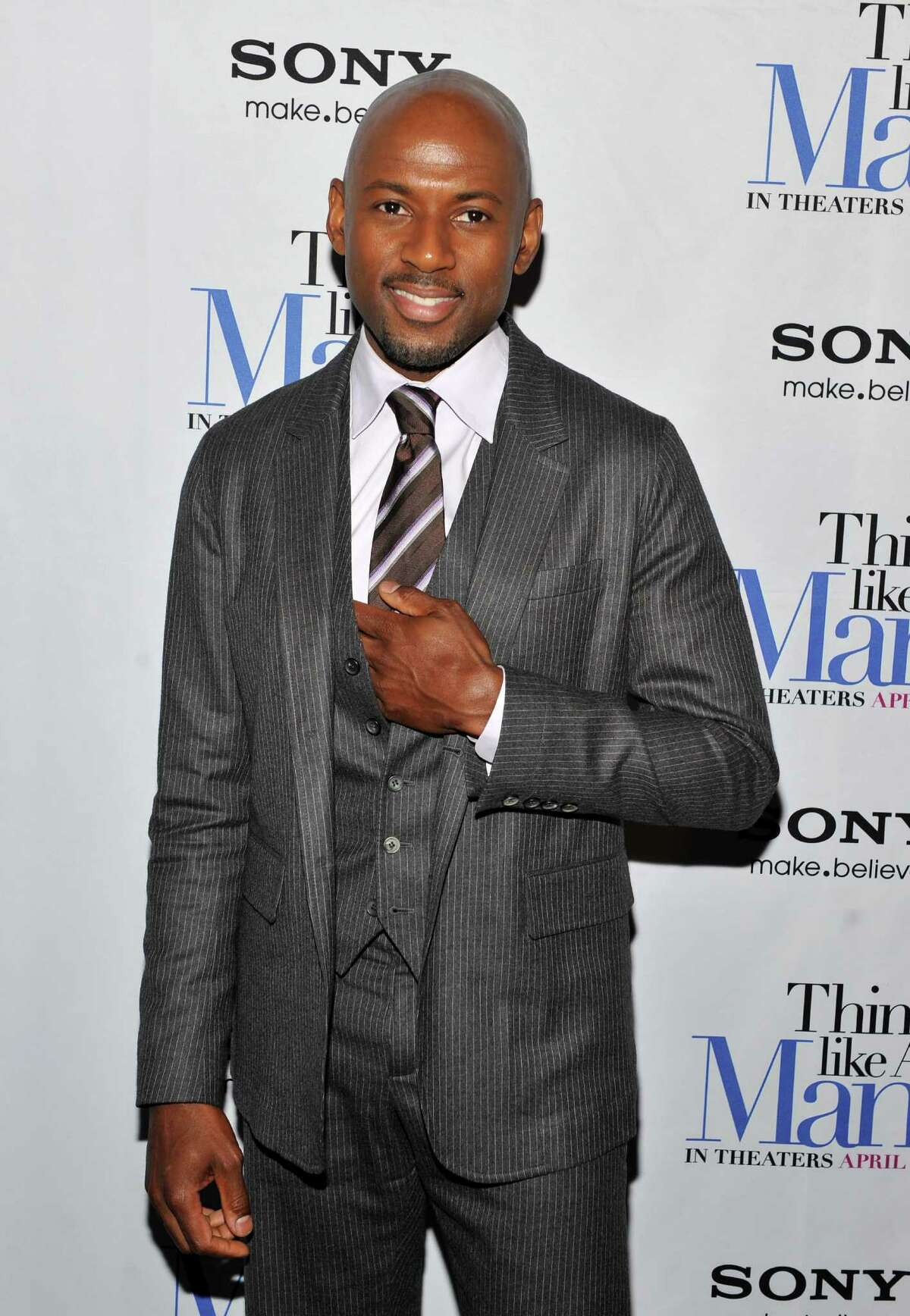 """NEW YORK, NY - APRIL 04: Romany Malco attends the """"Think Like a Man"""" screening at the AMC Empire 25 theater on April 4, 2012 in New York City. (Photo by Fernando Leon/Getty Images)"""