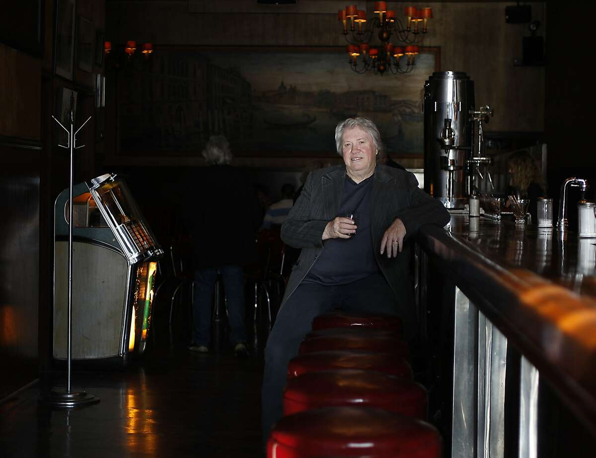 Sax player Bobby Keys poses for a picture at Tosca cafe as he visits San Francisco, Calif. for his memoir on April 17, 2012