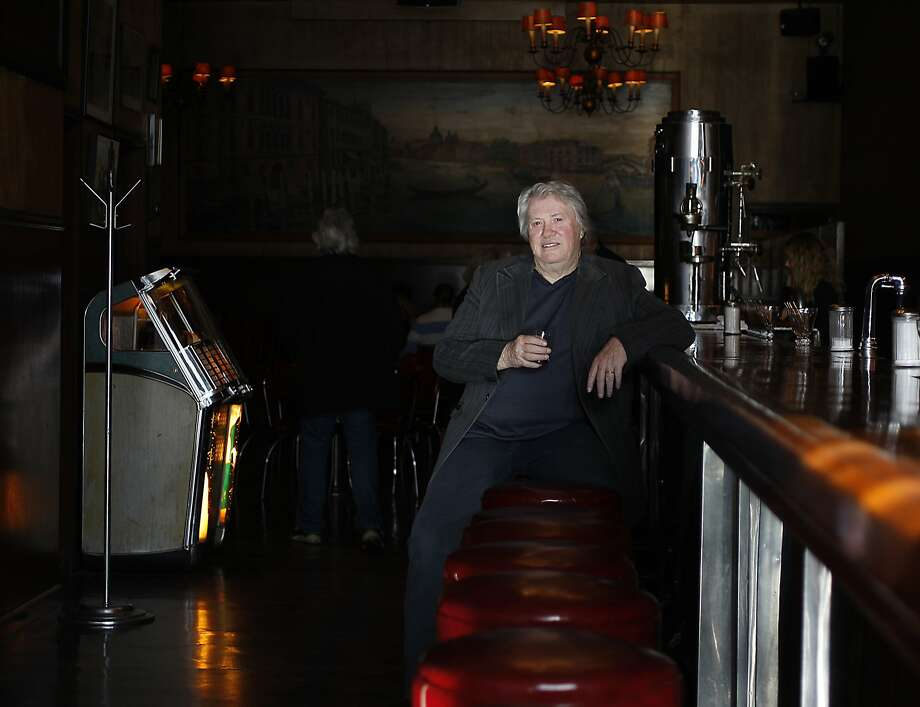 Sax player Bobby Keys poses for a picture at Tosca cafe as he visits San Francisco, Calif. for his memoir on April 17, 2012 Photo: Siana Hristova, The Chronicle