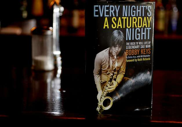 Sax player Bobby Keys's memoir is about his life and friendships with the most famous musicians in our times he worked with as he visits San Francisco, Calif. to present it in a book on April 17, 2012. Photo: Siana Hristova, The Chronicle