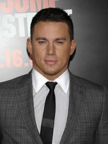 "Stripper-turned-actor Channing Tatum has been open about his past career and will starred in a movie about male strippers, ""Magic Mike."" (Dan Steinberg / Associated Press)"