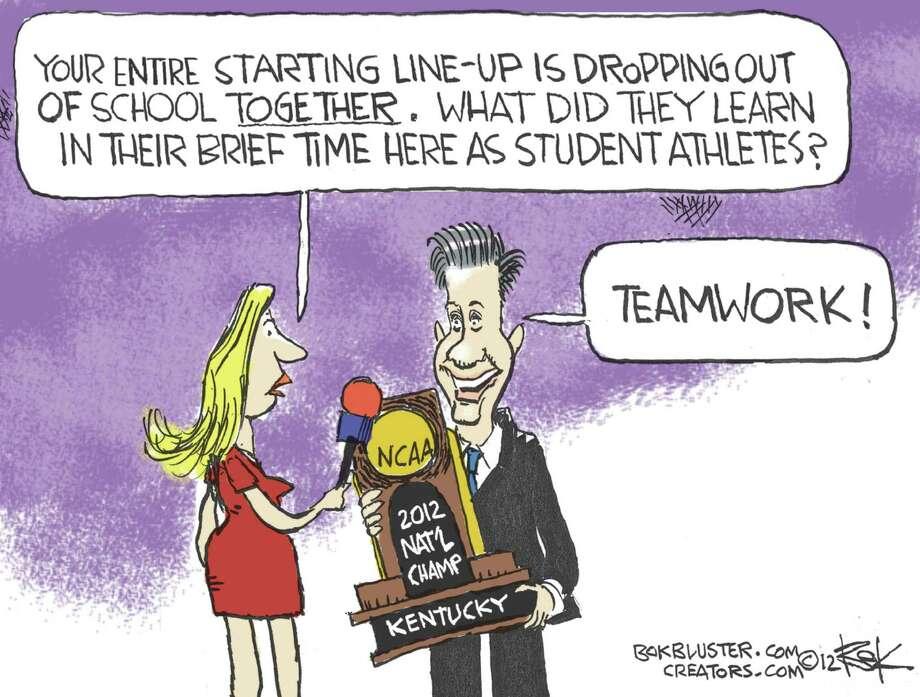 Editorial cartoon by Chip Bok. Photo: Chip Bok