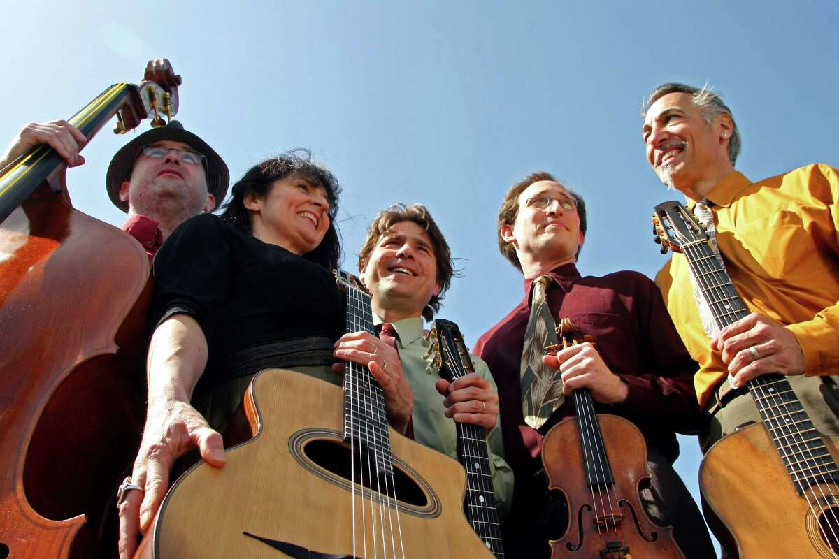 The Hot Club of San Francisco will present an afternoon of silent movies and music when the group visits the Silvermine Arts Center in New Canaan, on Sunday, April 22. Tickets are $20 nonmembers, $15 members. For more information, visit www.silvermineart.org.