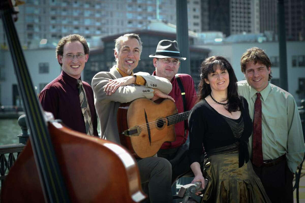 """The Hot Club of San Francisco is expected to present """"Cinema Vivant,"""" a mix of gypsy jazz and silent films, on Sunday, April 22, beginning at 4 p.m. at the Silvermine Arts Center in New Canaan. Reservations are suggested. For more information, call 203-966-9700, Ext. 22."""